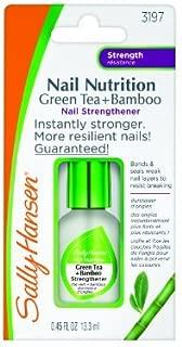 Sally Hansen Nail Nutrition Green Tea + Bamboo 0.45 Ounce (13ml) (2 Pack)