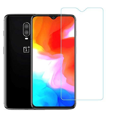 RKVMM Protector de pantalla de cristal templado transparente para OnePlus 6T / OnePlus 6T McLaren HD Clear {Case Friendly} para OnePlus 6T / OnePlus 6T McLaren