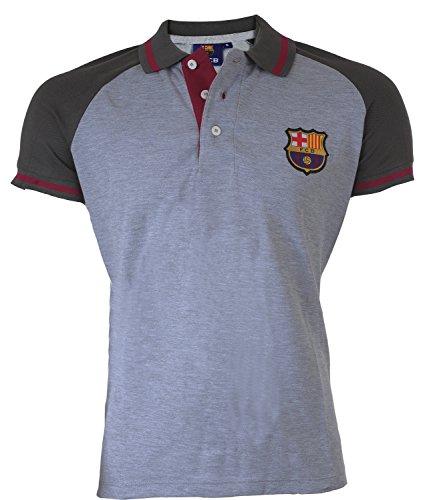 FC Barcelone - Polo Barca, collezione ufficiale, taglia adulto, da uomo, XL