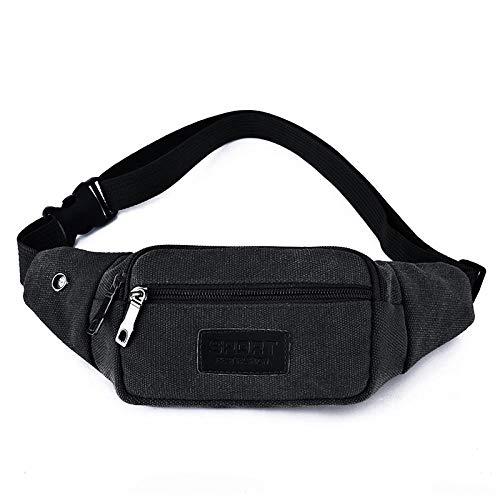 Bauchtasche Waist Bag New Hot Style Herren Leder Casual Gürteltasche Hüftgurt Tasche Travel Sports Taille Packs Geldbörse Hüfttasche Color1
