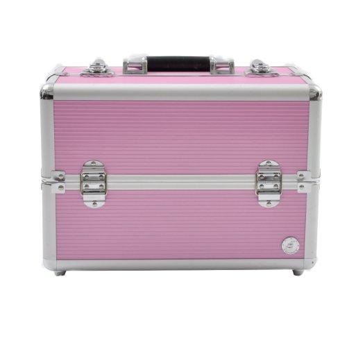Beauty Box San Remo - Estuche de maquillaje, color rosa