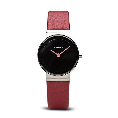 BERING Damen-Armbanduhr Analog Quarz Leder 10126-604