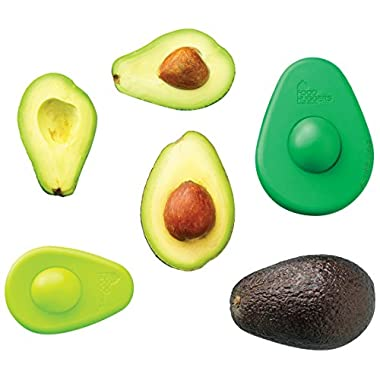 Food Huggers RR-12-23-10 Avocado Set of Two, 5.6 x 4 x 1.5 inches