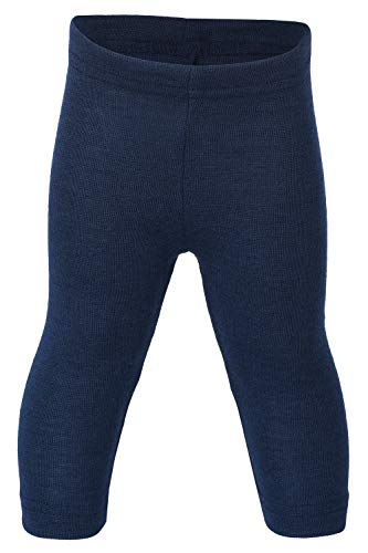 ENGEL Pants MERINO WOOL SILK Eco 70 3550 - Leggings para bebé, color azul marino
