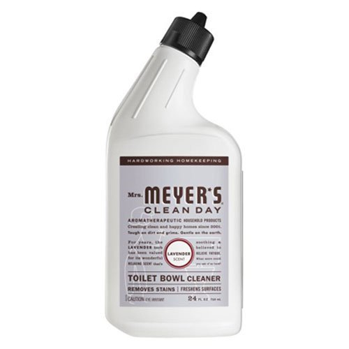 Mrs. Meyer's Clean Day Liquid Toilet Bowl Cleaner, Lavender Scent, 24 ounce bottle (Pack - 6)