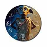 mV Harry Potter 11.4'' Handmade Wall Clock - Get Unique décor for Home or Office – Best Gift Ideas for Kids, Friends, Parents and Your Soul Mates
