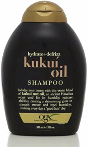 Ogx Shampoo Hydrate & Def Size 13z Organix Shampoo Hydrate & Defrizz Kukui Oil. 13z