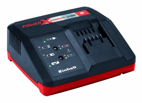 Einhell 4512020 Power X-Change Schnell-Ladegerät für 1,5 Ah, 3,0 Ah und 5,2 Ah Power X-Change Akkus