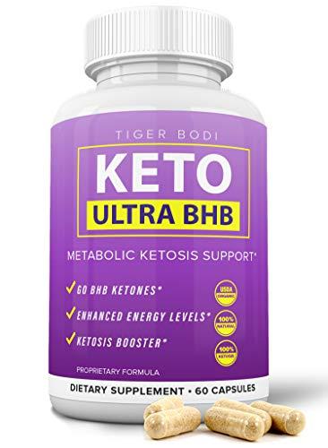 Keto BHB Real Capsules, Keto 800 BHB Pills for Real Energy, Focus, Boost - Premium Advanced Powder Exogenous Ketones for Rapid Ketosis Diet for Men Women 1