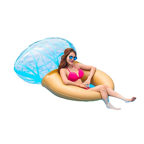 YYF Durable Water Hammock,water Hammock For Adults,Adult Inflatable Diamond Ring Swimming Ring Swimming Pool Water Toy Floating Row Floating Bed Mount/white Environmental