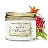 Era Organics Tea Tree Oil Face Cream - For Oily, Acne Prone Skin,...