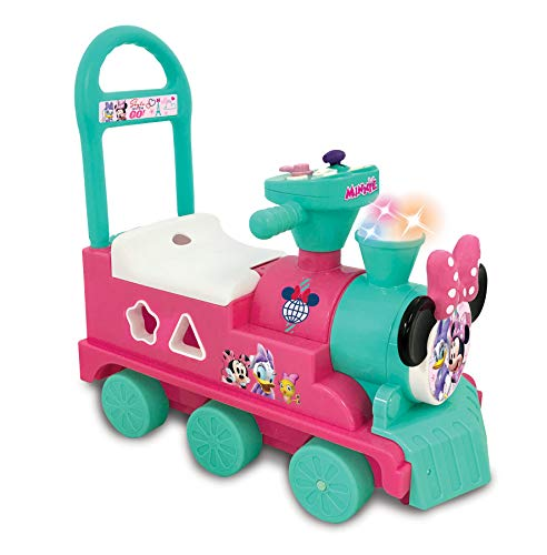 Disney Minnie Mouse Play n' Sort Activity Train, Pink