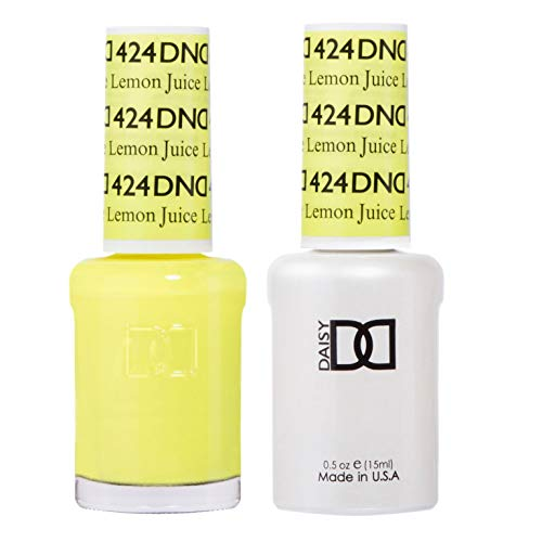 DND Gel & Matching Polish Set #424 - Lemon Juice