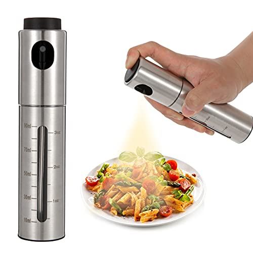 Oil Sprayer for Cooking, Olive Oil Sprayer Mister For Air Fryer BBQ Vinegar Baking Grilling(2021 Ver)