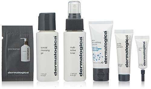 Dermalogica Normal/Dry Skin Kit Set (Special Cleansing Gel, 50 ml+Gentle Cream Exfoliant, 10 ml+Multi-Active Toner, 50 ml+Skin Smoothing Cream, 22 ml+Intensive Eye Repair, 4 ml), 100 g