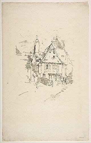 The Poster Corp James McNeill Whistler РGabled Roofs (Gabled Roofs Vitr̩) Kunstdruck (45,72 x 60,96 cm)