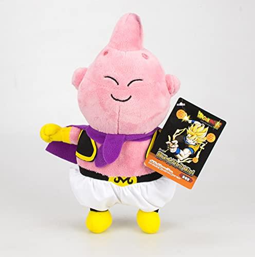 Bonito muñeco de Peluche de Anime Dragon Ball Z Majin Buu de Peluche de 18Cm, Figura de acción, muñeco de Peluche Suave, Día de los niños