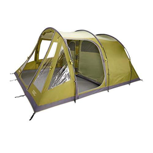 Vango Icarus 500 Deluxe Family Tent, Green, One Size
