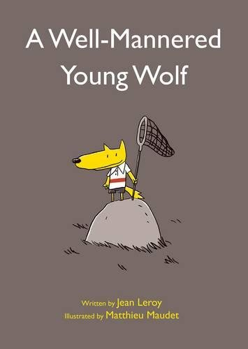 Image of A Well-Mannered Young Wolf