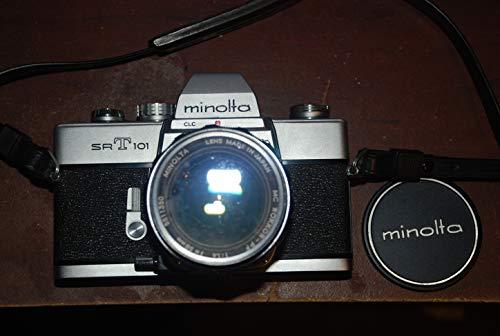Minolta Camera CO., LTD. Minolta SRT 101 35mm Film Camera w/Minolta 50mm Manual Focus Lens