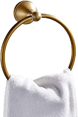 Lamton Storage Rack Towel Ring European NEW before selling Bombing new work Round T Bathroom Antique