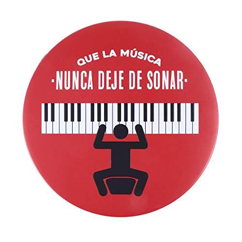 VOSAREA Vintage Retro Carteles de Chapa Rústico Indicador Etiqueta Leyenda Que LA Musica para Home Bar Cafe Pub Decoración