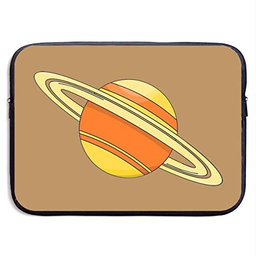 Ahdyr Cartoon Saturn Handtasche Fall Abdeckung Laptop-Hülle Computer-Tasche für 13 '15'