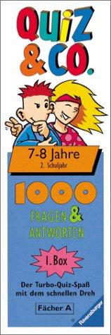 Quiz & Co. (Spiel), 2. Schuljahr, 7-8 Jahre