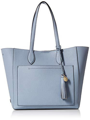 Cole Haan Women's Piper Leather Tote, zen blue