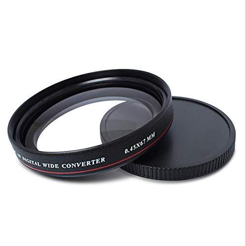 ZOMEI - Filtro obiettivo grandangolare, ultra sottile, 0,45x, per Niko/ Canon/Sony ecc, fotocamera, videocamera DSLR
