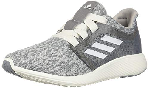 adidas Women's Edge Lux 3 Running Shoe, grey/cloud white/silver metallic, 10 M US