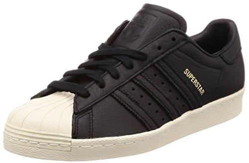 adidas Herren Superstar 80S Fitnessschuhe, Schwarz (Negbas/Verde/Rojsld 000), 42 2/3 EU