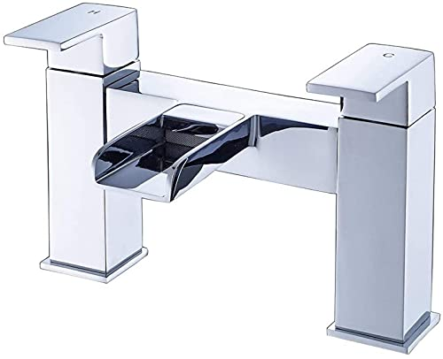 TEPET Grifo Cascada Mezclador de guardarropa bañera Fregadero Grifo