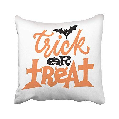 Trick Treat - Funda de almohada para sofá, hogar, cama, 40 x 40 cm