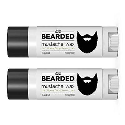 Mustache Wax Live Bearded
