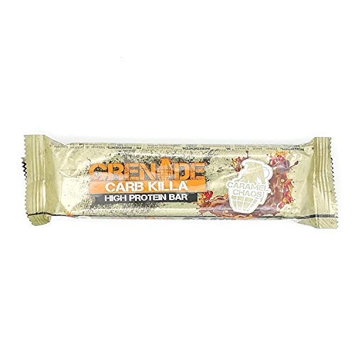 Grenade Protein Bar Caramel 60g, This bar Really is The Perfect high Protein Low carb Snack, Pack of 6