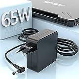 5.5 * 2.5 mm 65W Adaptador Cargador Portátil para ASUS X550 X550L X555L X551M X551C F555L F551M F551C X551 S300CA S300C S300 S400CA S400C X45A X550ZA X54C Q301 Q301L Q400 Q501Asus Cargador Adaptador
