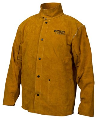 Lincoln Electric KH807XL Leather Welding Jacket, XL - Quantity 6