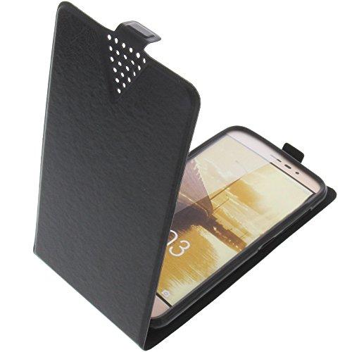 foto-kontor Tasche für Blu Vivo 5 Book Style schwarz Schutz Hülle Buch