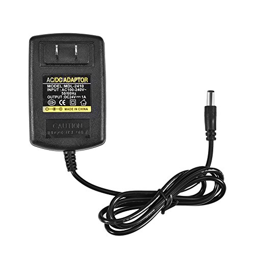 Aisheny 100-240V a Dc 24V 1A Cargador de Pared de Cargador de CA de Iones de Litio Adaptador de CA / CC / Adaptador Cable de...