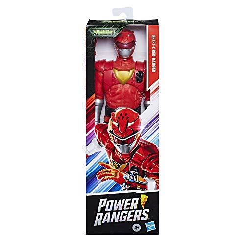 Figura Power Rangers 30cm Ranger Vermelho - E7802 - Hasbro