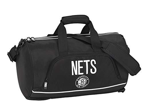 NBA Brooklyn Neets Sport Bag – Bolsa de gimnasio – Tamaño 48 cm aprox.