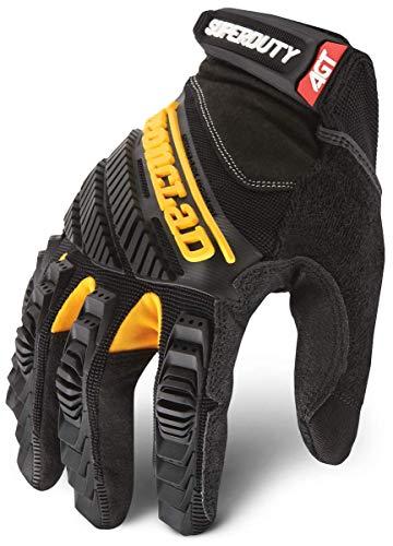 Ironclad SDG2-04-L Super Duty 2 Glove, Black, Large