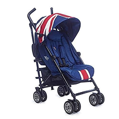 Easywalker - Silla de paseo mini buggy union jack classic azul