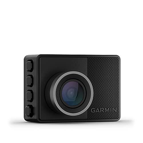 """Garmin Dash CAM 57 – Cámara Delantera para Coche con Pantalla de 2"""", 1440 píxeles y 140 Grados, Detector de incidentes y Modo vehículo aparcado, 3.7 MP"""