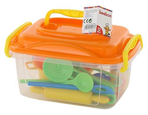 VEDES Großhandel GmbH - Ware 47023807 Beeboo Kitchen Set de cuisine et de pâtisserie, Multicolore, 20 pièces - Version Allemande