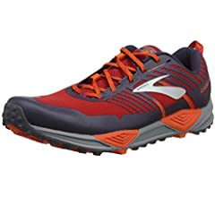 Brooks Cascadia 13, Zapatillas de Cross para Hombre, Rojo (Red/Orange/Grey 636), 41 EU: Amazon.es: Zapatos y complementos