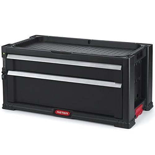 KETER TOOL CHEST 237790 caja de herramientas sin herramientas Negro