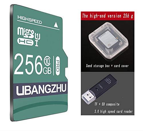 DDHZTA Speicherkarte mit hoher Geschwindigkeit Fahren Recorder Speicher spezielle Kamera-Überwachungskamera Universal-Speicherkarte Handy-Speicherkarte,Phone Camera Tablet,256G