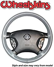 product image for Wheelskins Original One Color Genuine Leather Steering Wheel Covers - 14 1/2 by 4 Color:Black